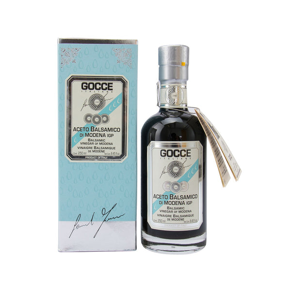 GOCCE ITALIANE Balsamic Vinegar of Modena - 6 Travasi  (250mL)