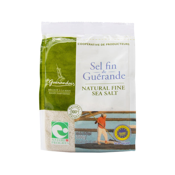 LE GUERANDAIS Natural Fine Sea Salt  (500g)