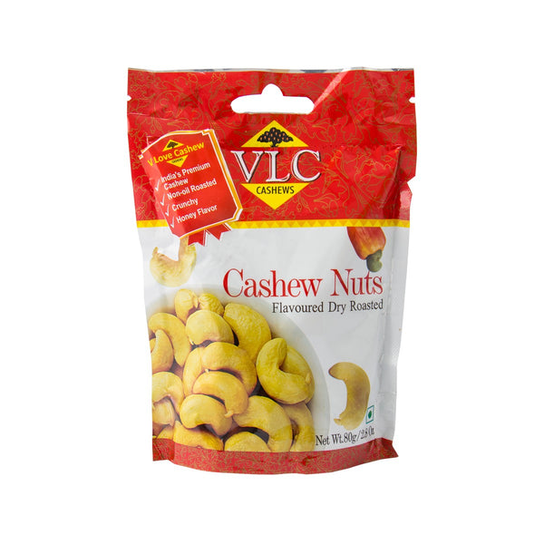 VLC Honey Dry Roasted Cashew Kernels  (80g)