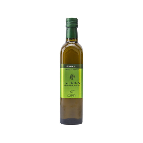 ILIADA Organic Kalamata Extra Virgin Olive Oil  (500mL)