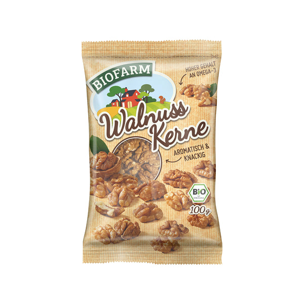 KLUTH Organic Walnut Kernels  (100g)