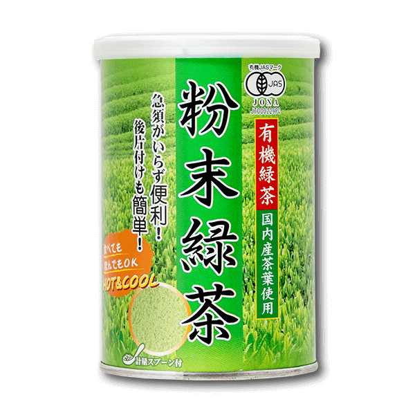 SURUGAEN Organic Powdered Green Tea  (100g)