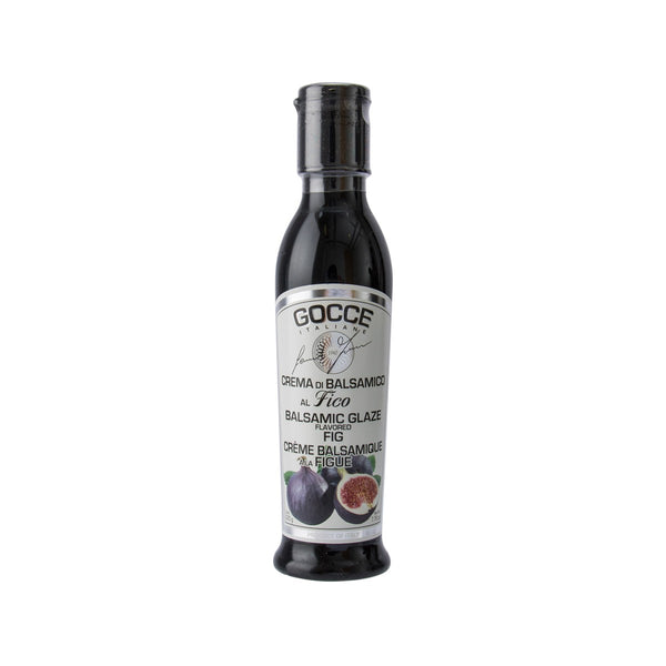 GOCCE ITALIANE Fig Flavored Balsamic Glaze  (220g)