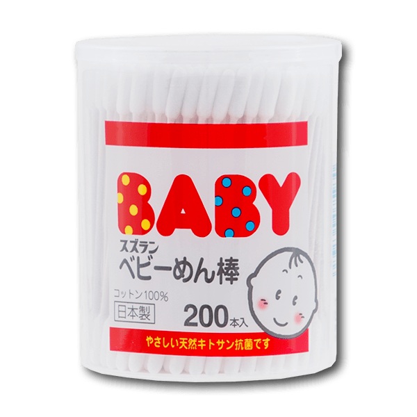Suzuran Baby Cotton Buds(200pcs)