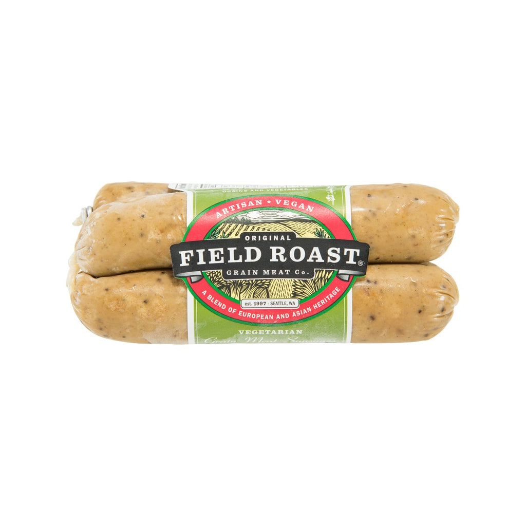 FIELD ROAST Vegetarian Grain Meat Sausages - Smoked Apple Sage  (368g)