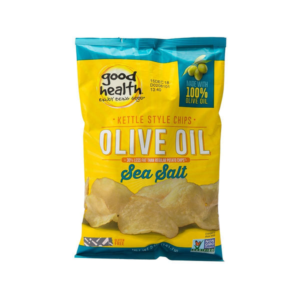 GOOD HEALTH Olive Oil Potato Chips - Sea Salt  (141.7g)