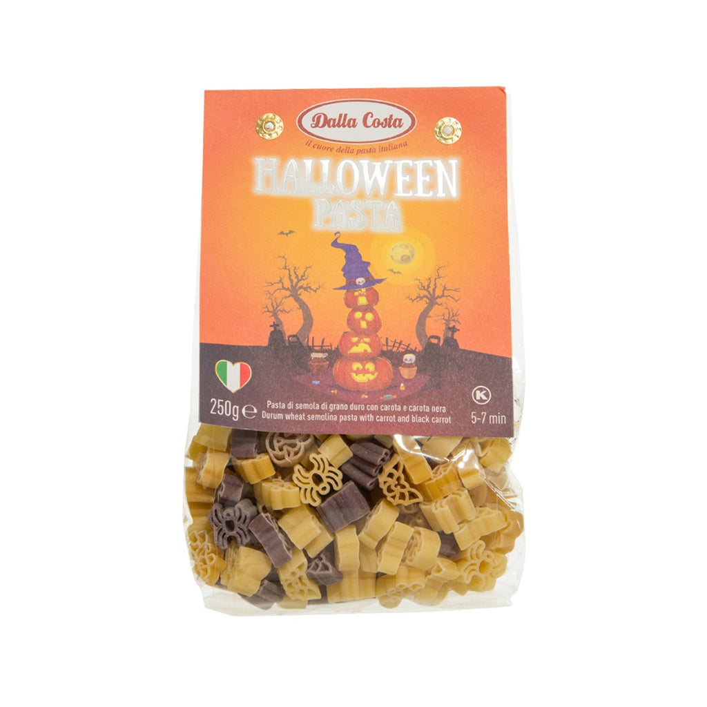 DALLA COSTA Halloween Pasta With Carrot and Black Carrot  (250g)