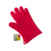 LEXLIVING 5 Fingers Silicon Glove Rd