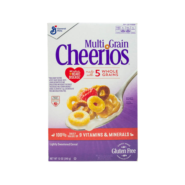 GENERALMILLS Multi Grain Cheerios Cereal  (340g)