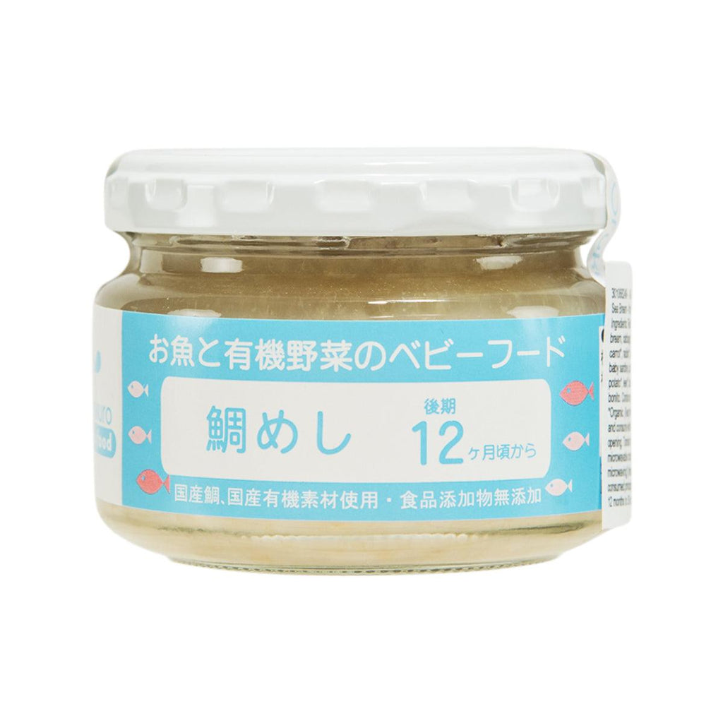AJISEN Baby Rice with Sea Bream - from 12 Months  (100g)