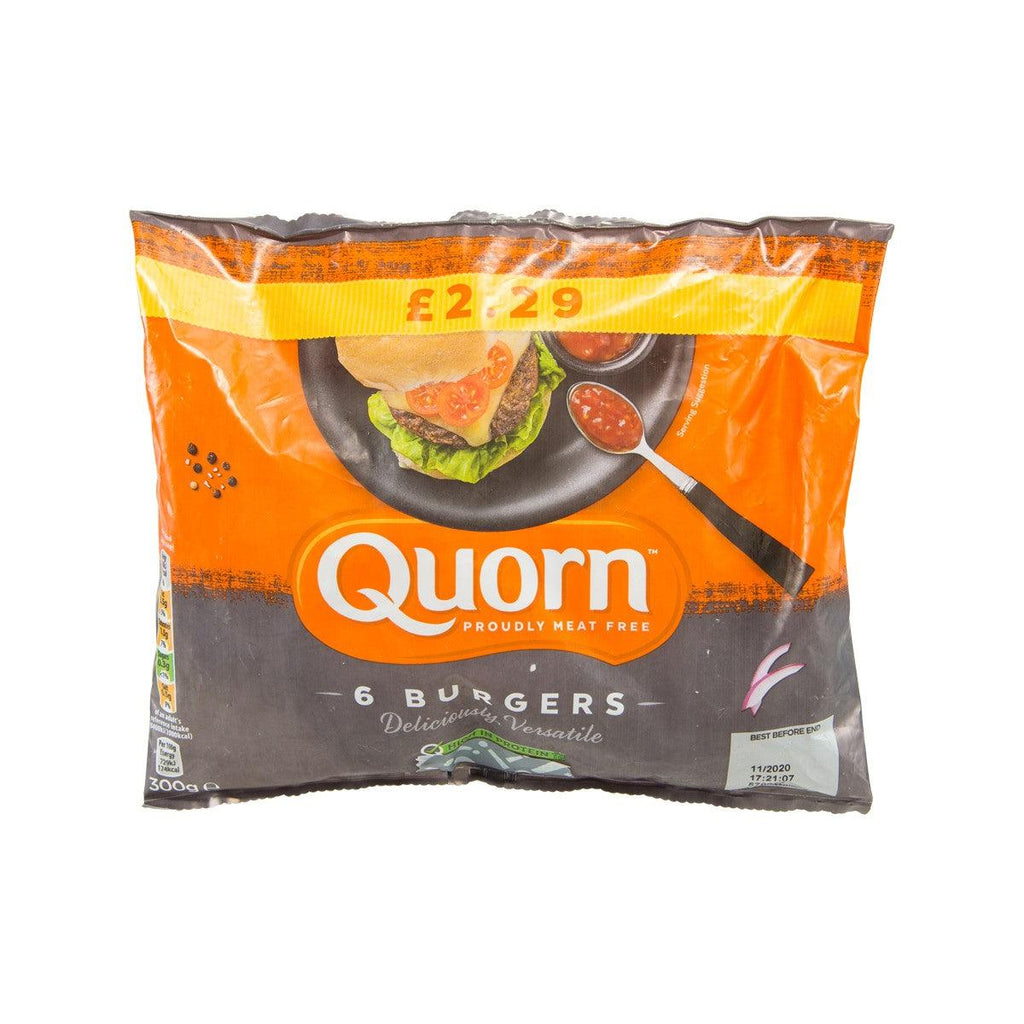 QUORN Meat Free Burgers  (300g)