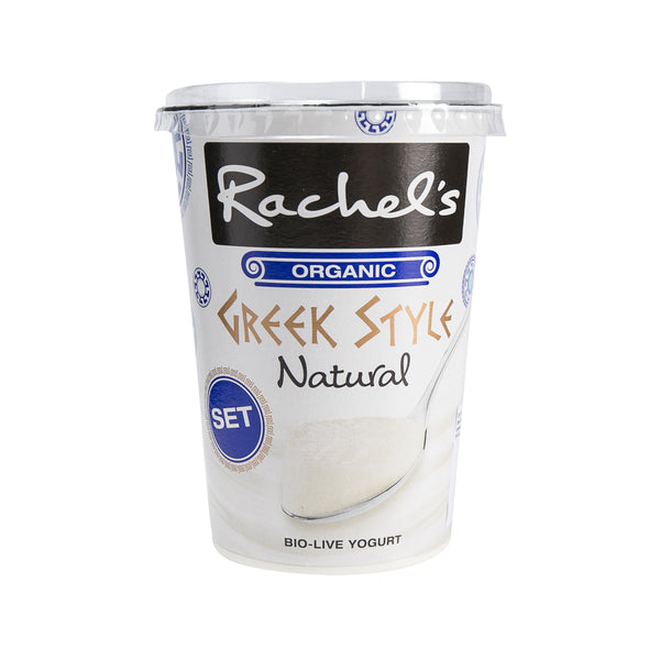 Rachel'S Organic Greek Style Yogurt - Natural(450g)