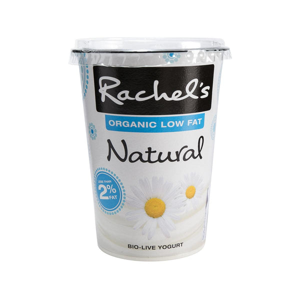 Rachel'S Organic Low Fat Yogurt - Natural(450g)