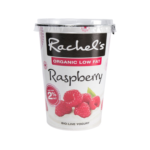 Rachel'S Organic Low Fat Yogurt - Raspberry(450g)