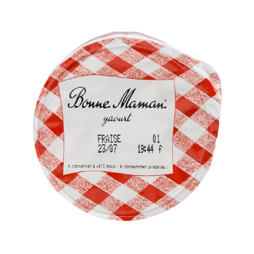 BONNE MAMAN Yogurt With Strawberry Jam  (125g)