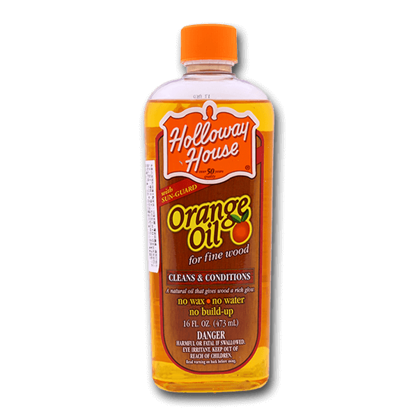 Holloway House Orange Oil For Fine Wood(16fl oz)