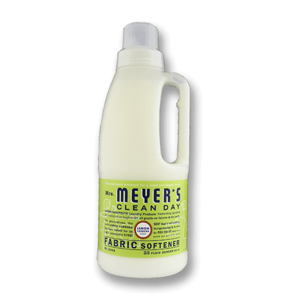 MRS. MEYERS Laundry Fabric Softener - Lemon Verbena Scent  (32fl oz)