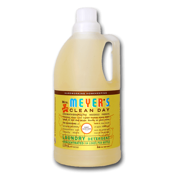 MRS. MEYERS Laundry Detergent for 64 Loads - Baby Blossom Scent