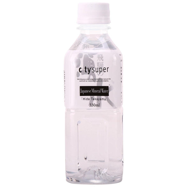 "city'super Japanese Mineral Water ""Hida Takayama""(330mL)"