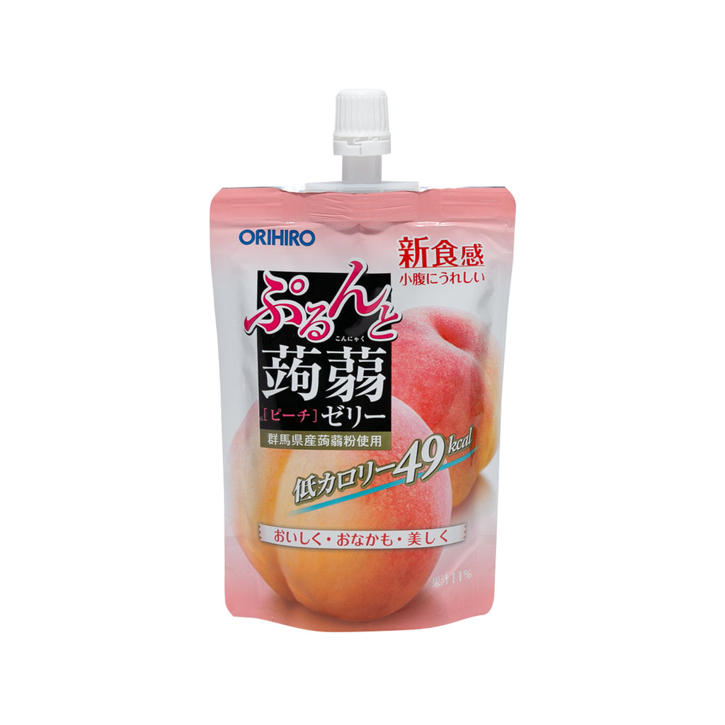 ORIHIRO Konjac Jelly Drink - Peach  (130g)