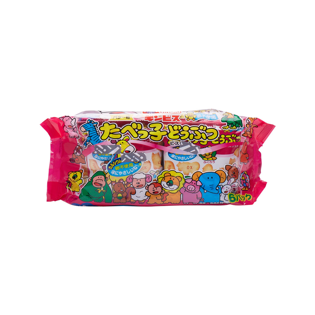 GINBIS Animal Biscuit - Butter Flavor  (150g)