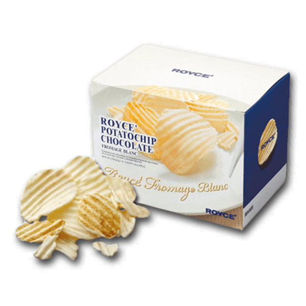 ROYCE' Potatochip Chocolate - White Chocolate & Cheese  (190g)