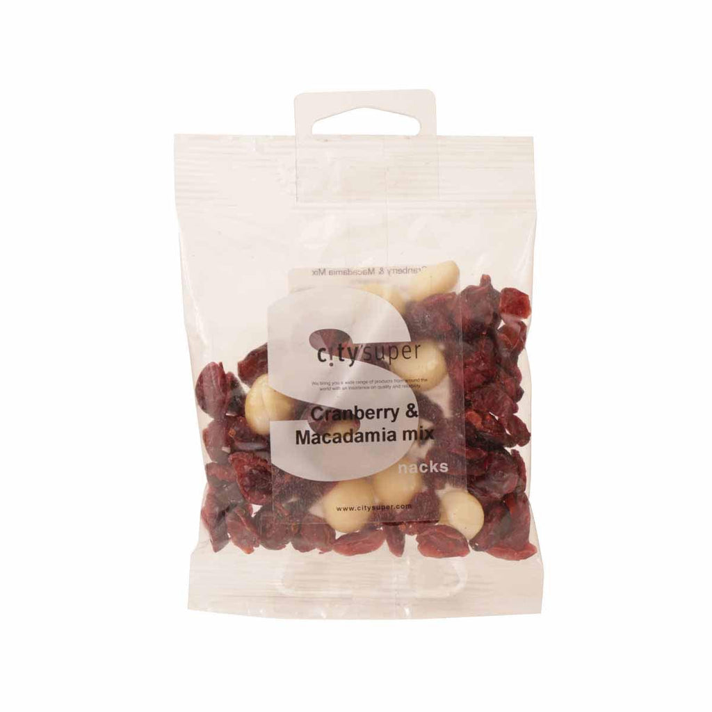 SUPERSNACK Cranberry & Macadamia Mix  (50g)