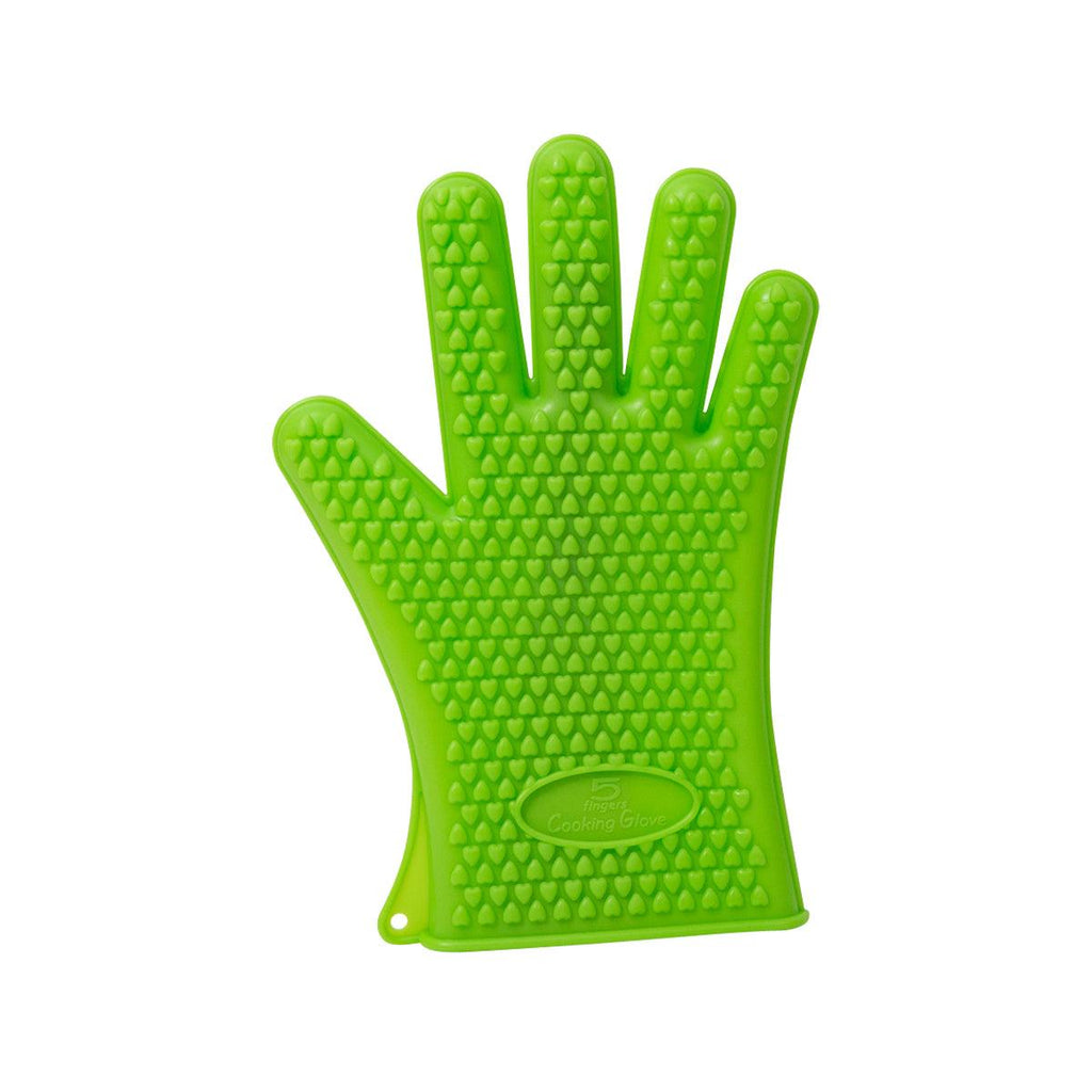5 Fingers Cooking Glove - Green