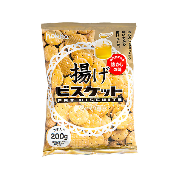 HOKURIKU Fry Biscuit With Sesame  (200g)
