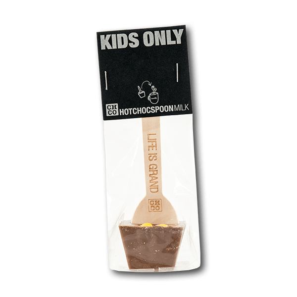 "CHCO Milk Hotchocspoon - ""Kids Only"" with Smarties(50g)"