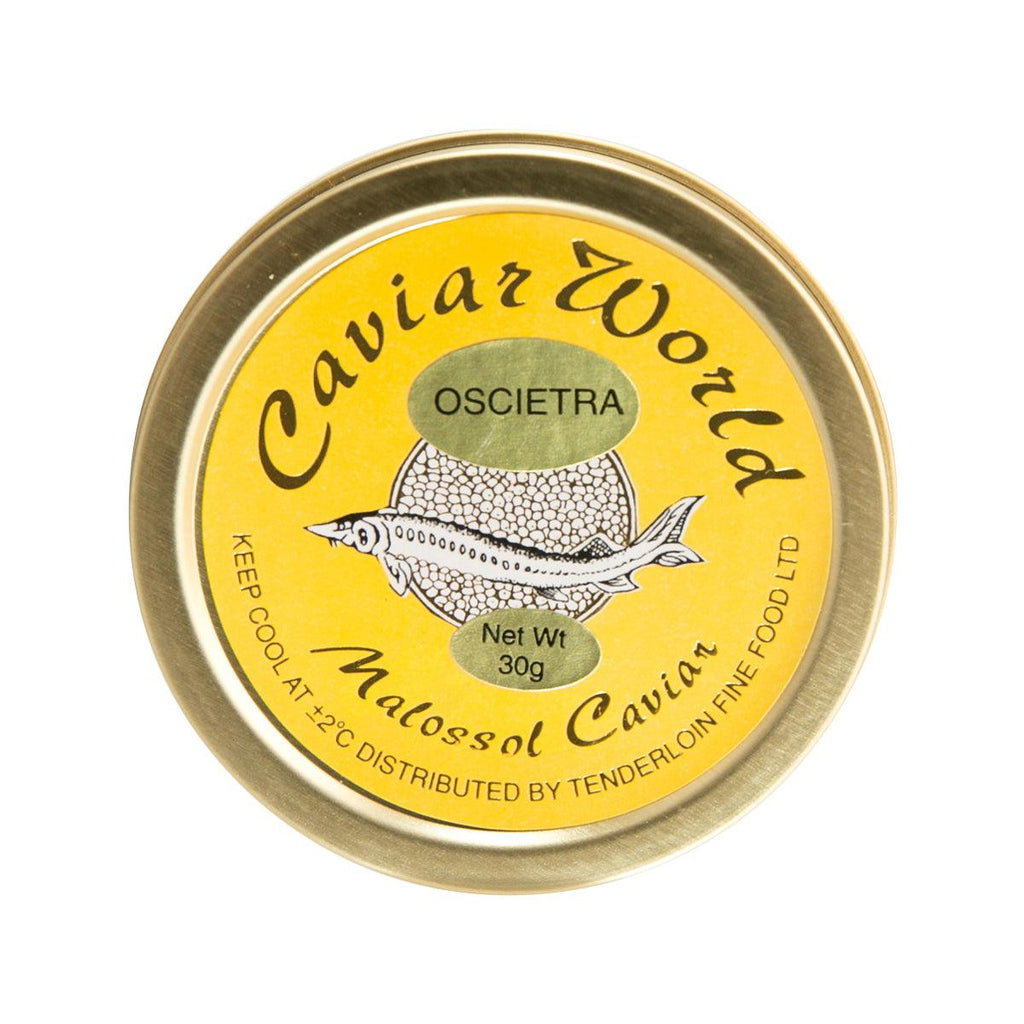 CAVIAR WORLD Farmed Germany Oscietra Caviar  (30g)