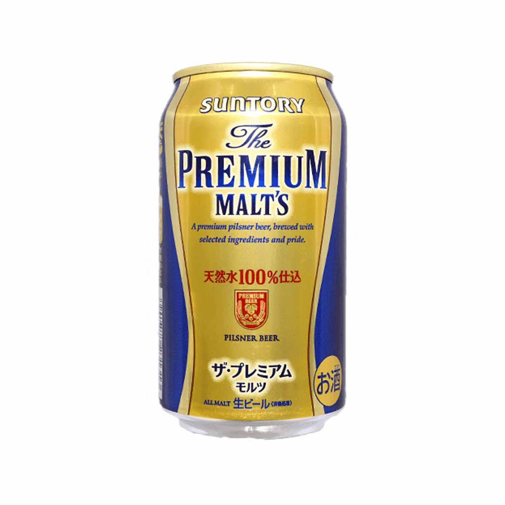 SUNTORY The Premium Malt's Pilsner Beer (Alc 5.5%)  (350mL)