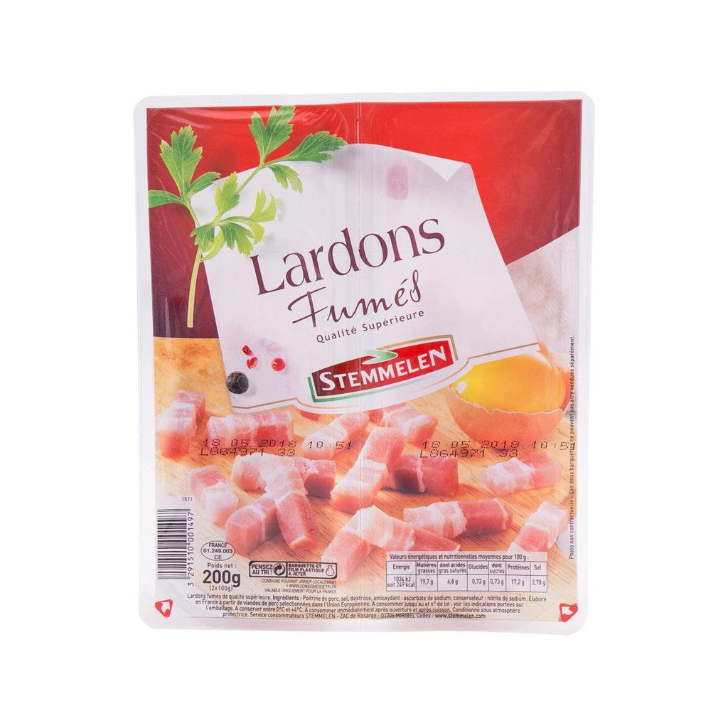 STEMMELEN Superior Smoked Bacon Cubes  (200g)