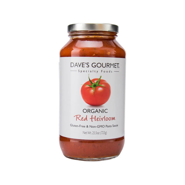 DAVE'S GOURMET Organic Red Heirloom Pasta Sauce  (723g)