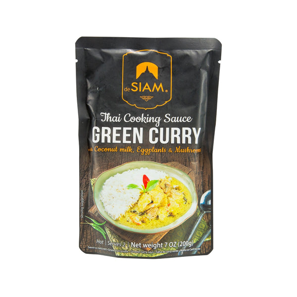 DESIAM Thai Coconut Green Curry Sauce  (200g)