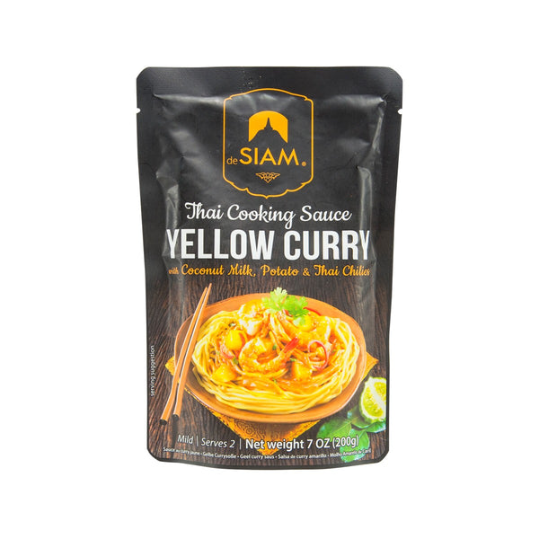 DESIAM Thai Yellow Curry Cooking Sauce  (200g)