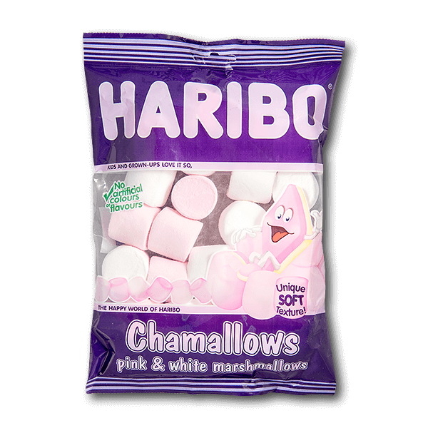 Haribo Chamallows - Pink & White Marshmallows(150g)