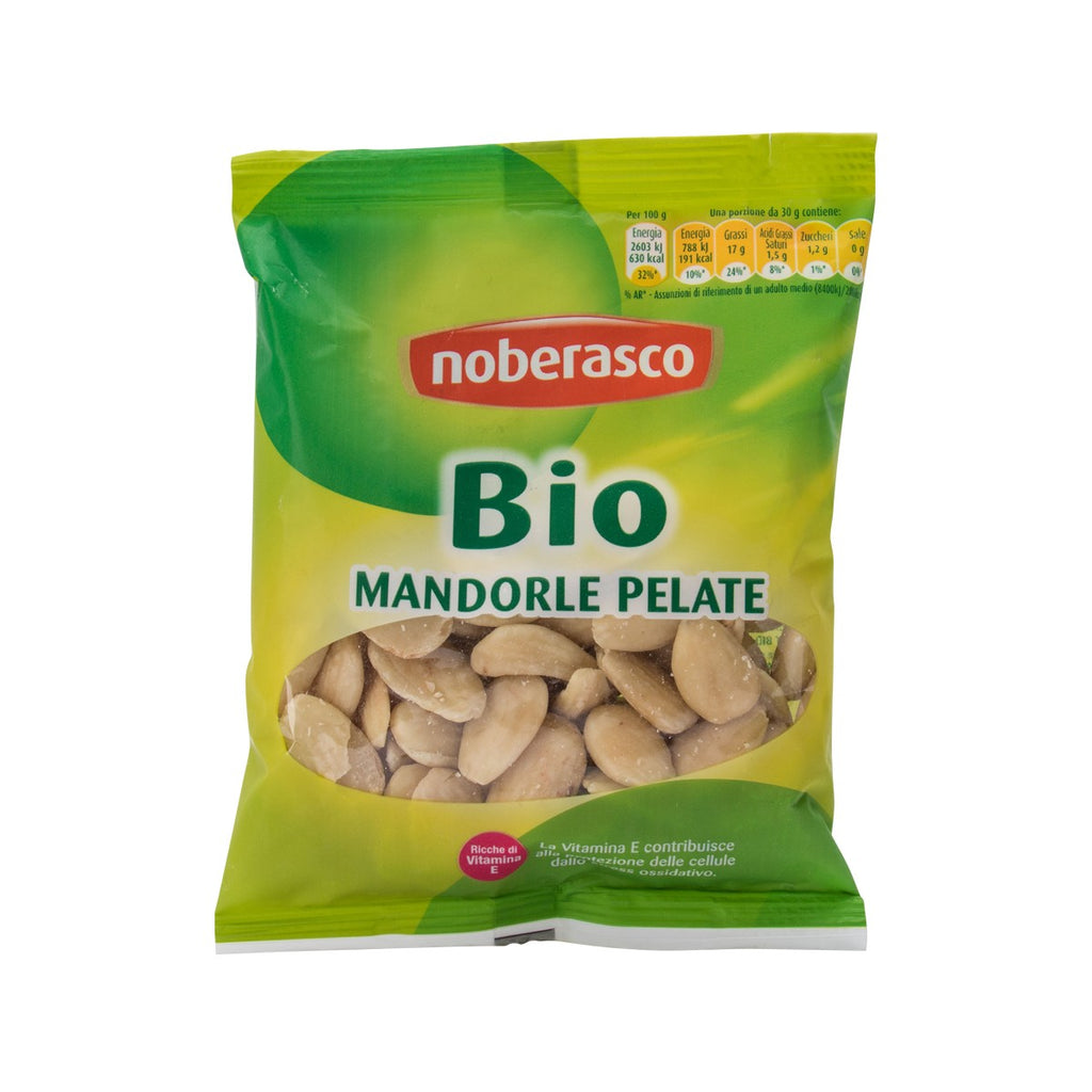 NOBERASCO Organic Peeled Almonds  (70g)