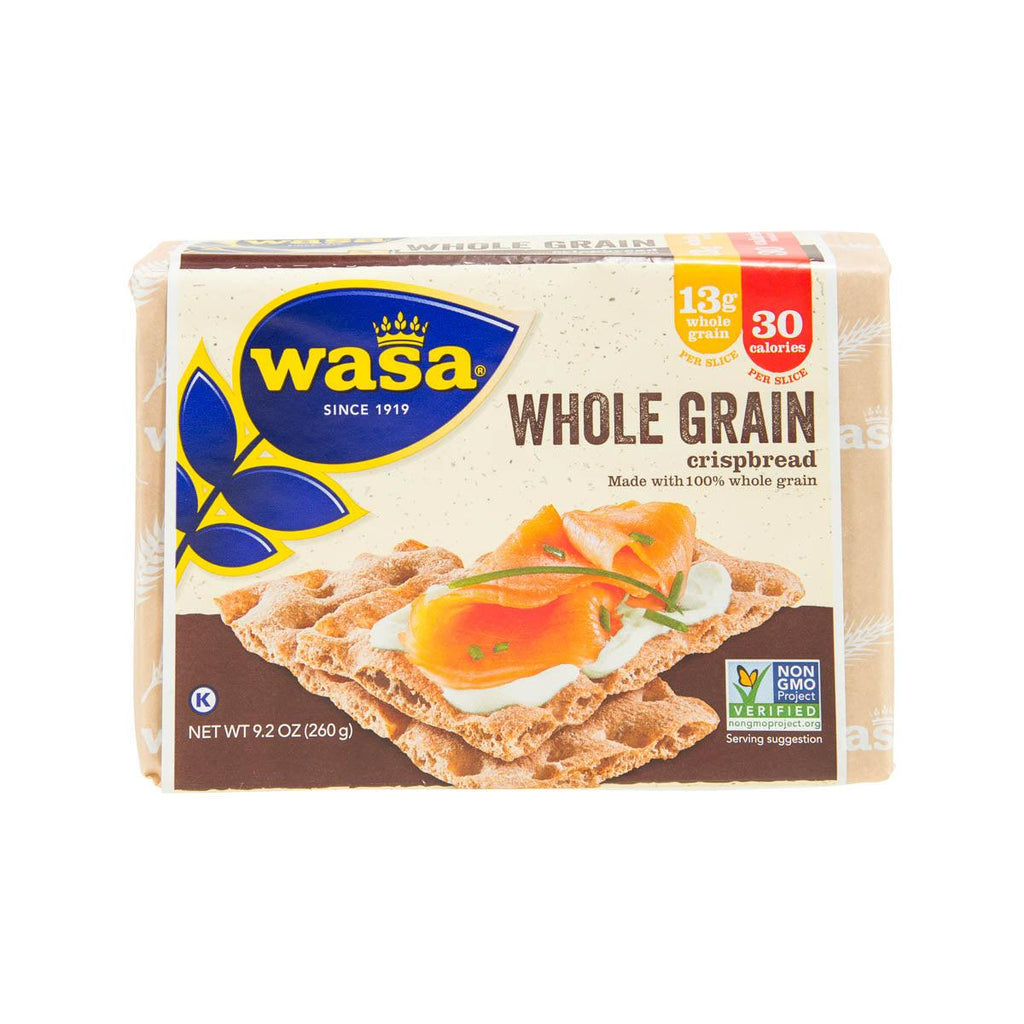 WASA Whole Grain Crispbread  (260g)