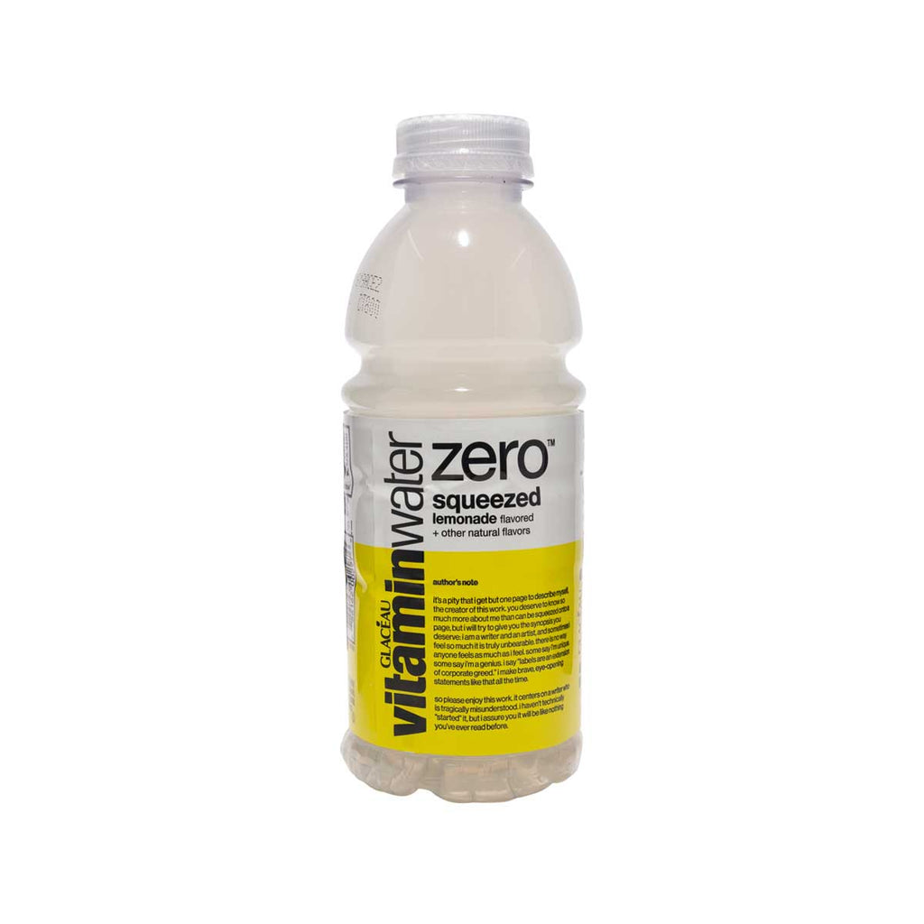 GLACEAU Vitamin Water Zero - Squeezed Lemonade  (591mL)