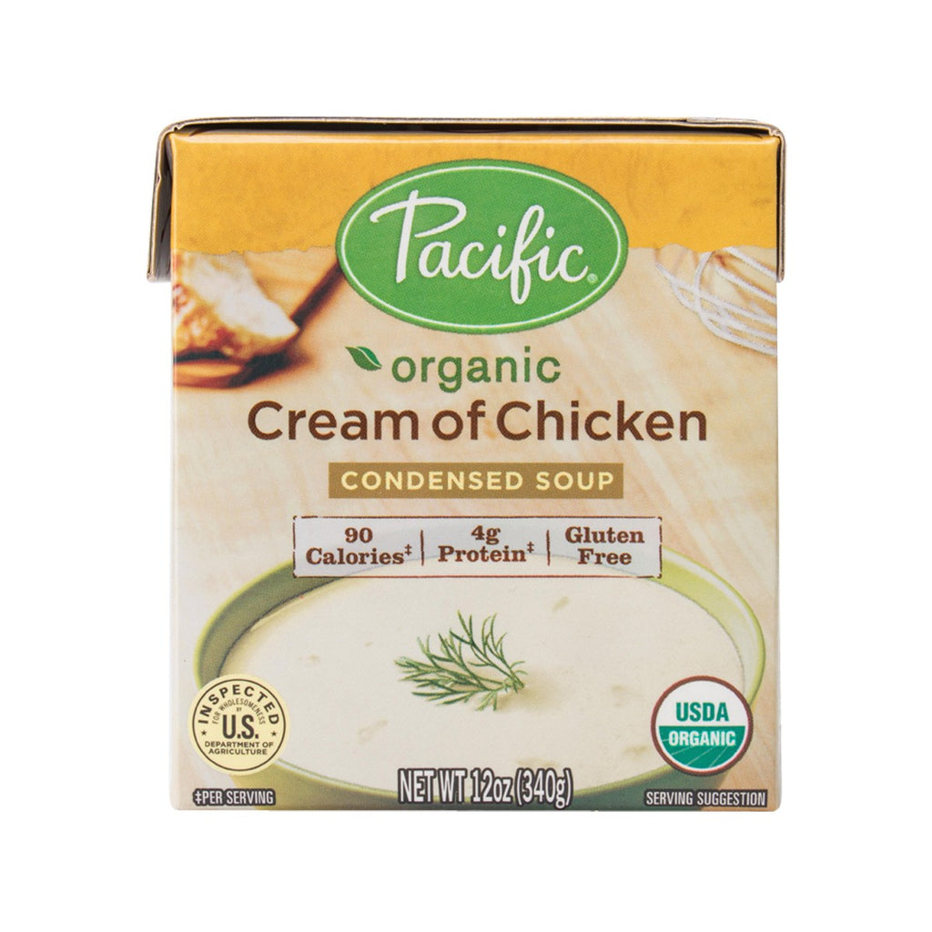 Pacific Organic Condensed Soup - Cream Of Chicken(340g)