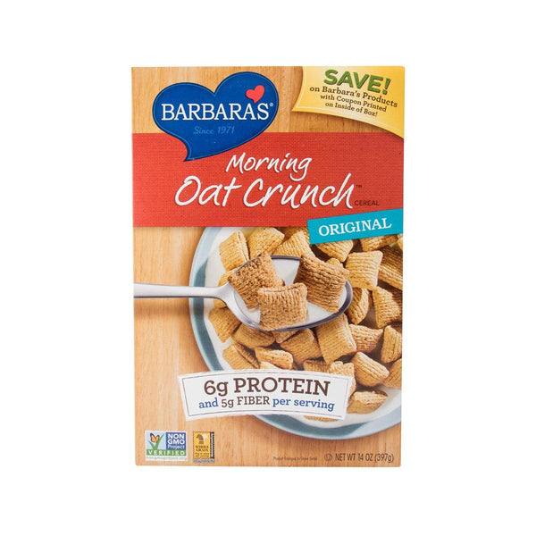 BARBARA'S Morning Oat Crunch Cereal - Original  (396g)