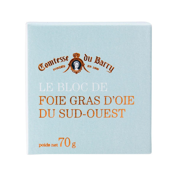Comtesse Du Barry Block Of Goose Foie Gras From Sud-Ouest(70g)