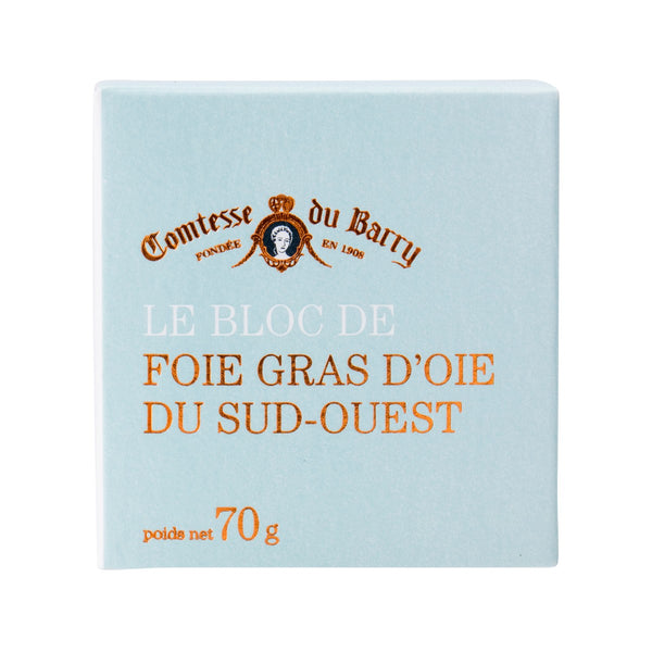 COMTESSE DU BARRY Block of Goose Foie Gras From Sud-Ouest  (65g)