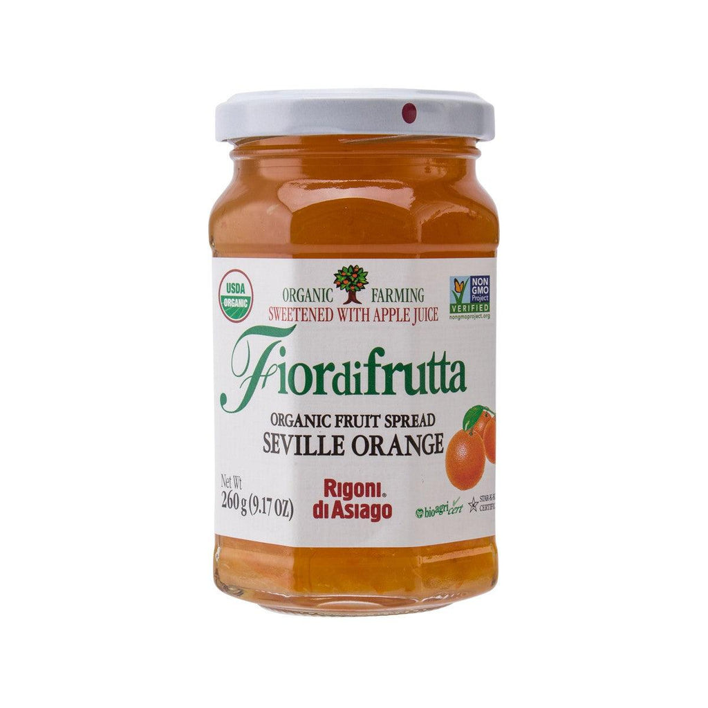 RIGONI DI ASIAGO Organic Fruit Spread - Seville Orange  (260g)