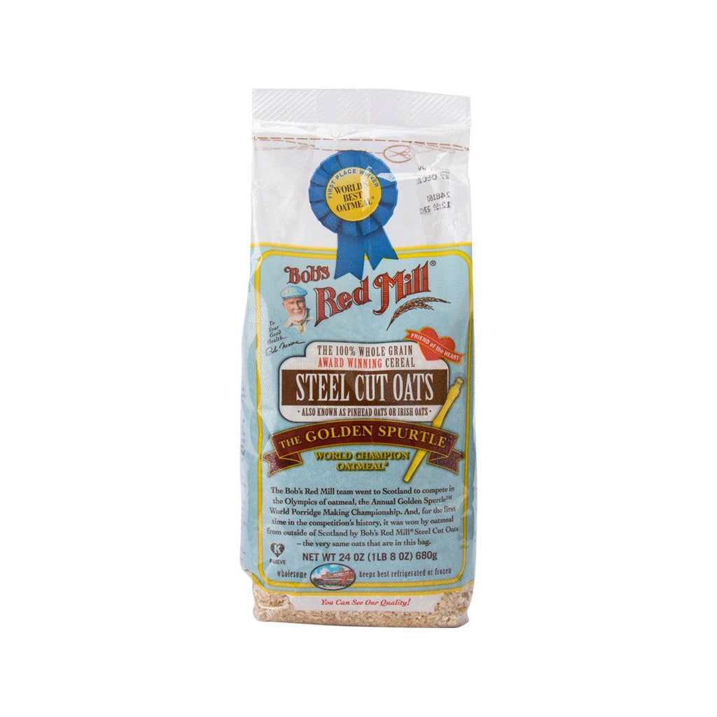 BOB'S RED MILL Steel Cut Oats  (680g)