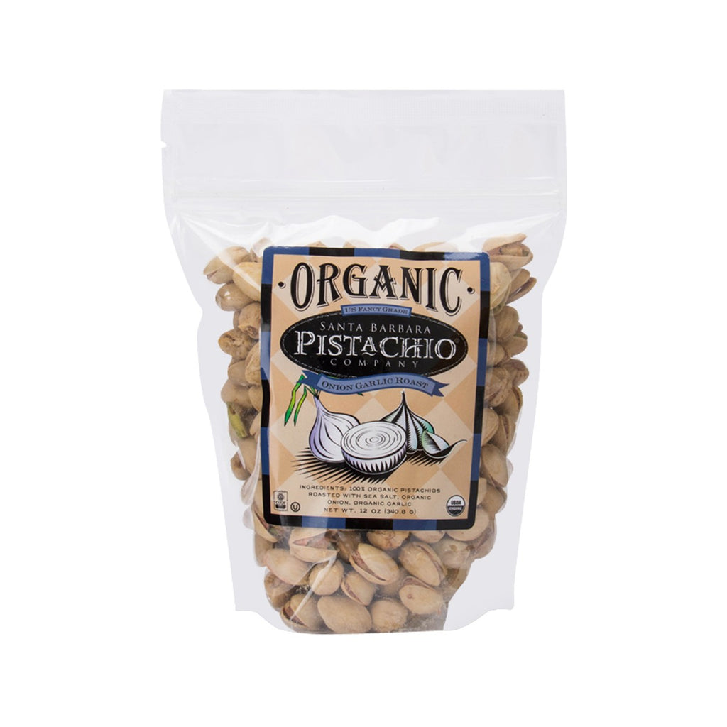 Santa Barbara Organic Onion Garlic Roasted Pistachio(340.8g)