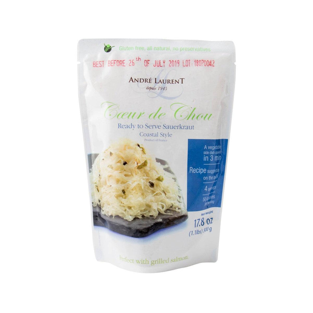 Andre Laurent Ready To Serve Sauerkraut - Coastal Style(500g)