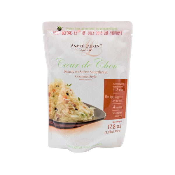 Andre Laurent Ready To Serve Sauerkraut - Gourmet Style(500g)