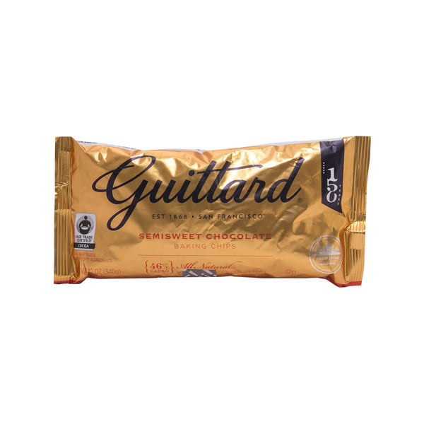 Guittard Real Semisweet Chocolate Chips(340g)